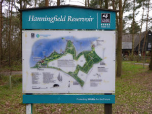 Hanningfield Res Map